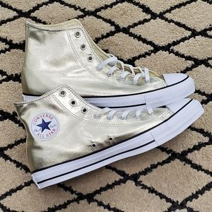 Converse Chuck Taylor All Star Light Gold High Top